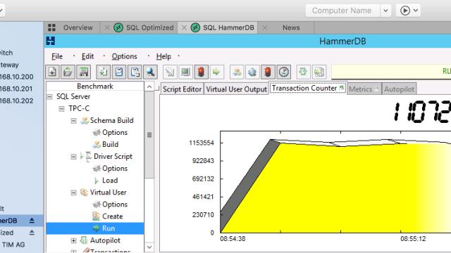 Improving HammerDB Benchmark Test Results