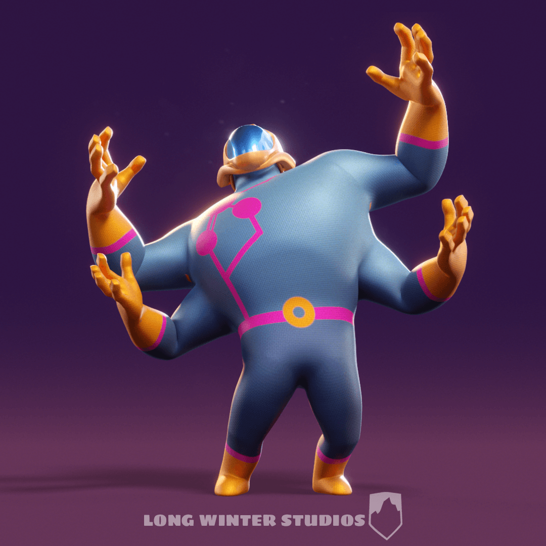 Big | Free Maya character rig from Long Winter Studios
