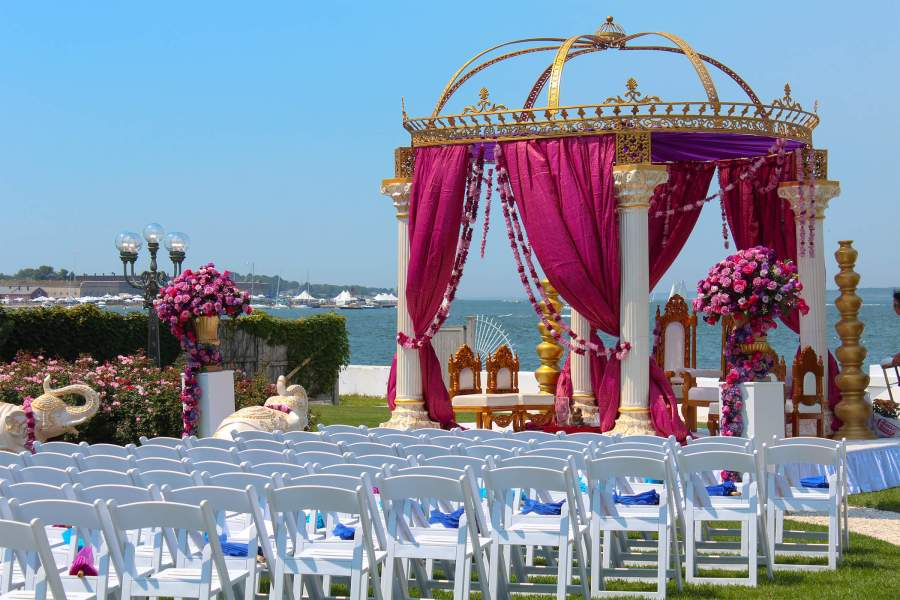 indian weddings newport cape cod boston - large event venue newport rhode island waterfront