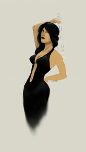 Digital Painting WIP - Naomi