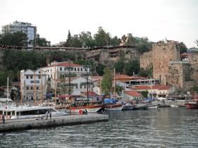 Castle Walls above Marina