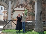 Lonna & Omer at Hadrian's Gate