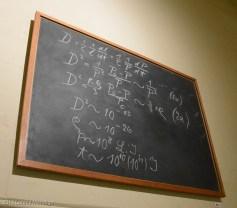 Einstein's Chalkboard