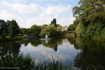 Bletchley Park Lake