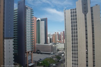 From my hotel room window in Forteleza