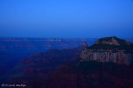 Pre-dawn over the Grand Canyon