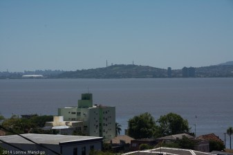 Porto Alegre from across the river