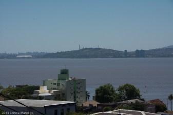 Porto Alegre from across the river