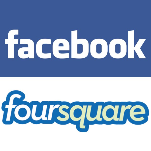 Foursquare vs. Facebook Places - Loo.me