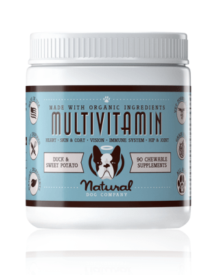 Toidulisandid Toidulisand multivitamiin Natural Dog Company – 90 närimiskapslit Natural Dog Company