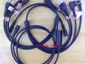 Cable programar radios universal 8 conectores