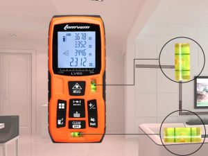 Medidor de distancia laser de 40 mts LOMVUM