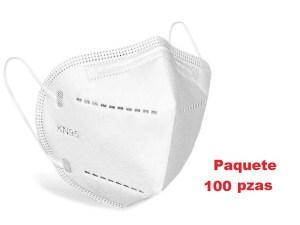 100 cubrebocas mascara KN95