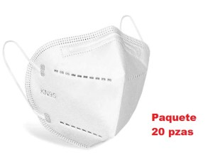 20 cubrebocas mascara KN95