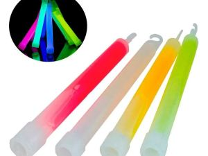 Barra Luminosa Neon glow stick emergencia supervivencia oscuridad