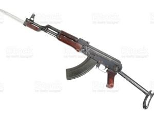 Cuchillo Bayoneta para fusil AK 47 generico