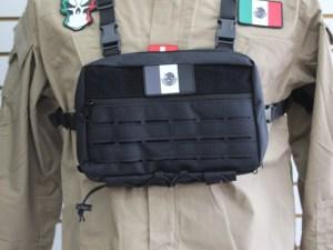 Maletin pechera 974 para custodios o guardia seguridad con funda porta arma