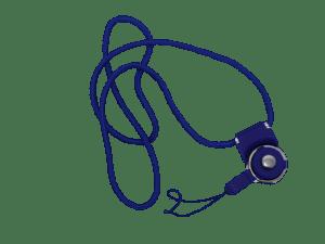 Porta gafete de cordon para identificacion o gafete
