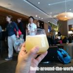 洗練度No.1スワンナプーム国際空港のキャセイパシフィックラウンジ☆2015年12月タイ・ラオス旅行記(45)
