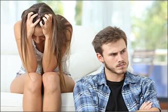 Trauer bei Mann und Frau unterschiedlich