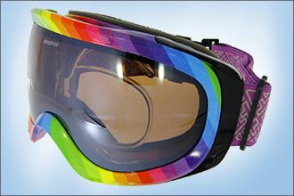 Skibrille von my-Spexx mit getönten Gläsern