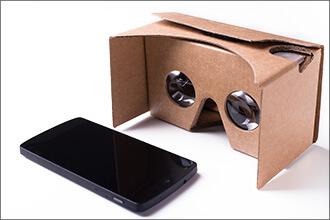 VR Brille Cardboard von Google mit Smartphone
