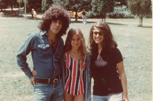 Stephen, Wendy, Susan Goodfriend at Camp Alamar in the 70s