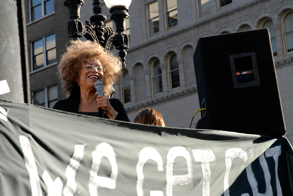 Angela Davis speaks at Occupy Oakland