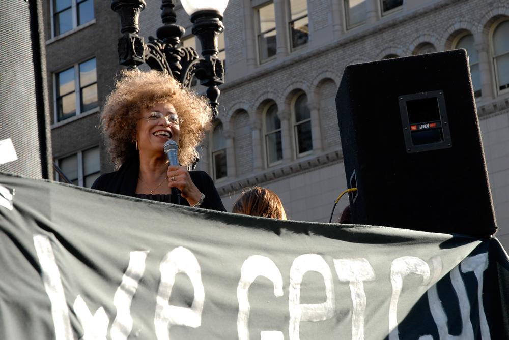 Angela Davis at Oakland General Strike on 11/2/11