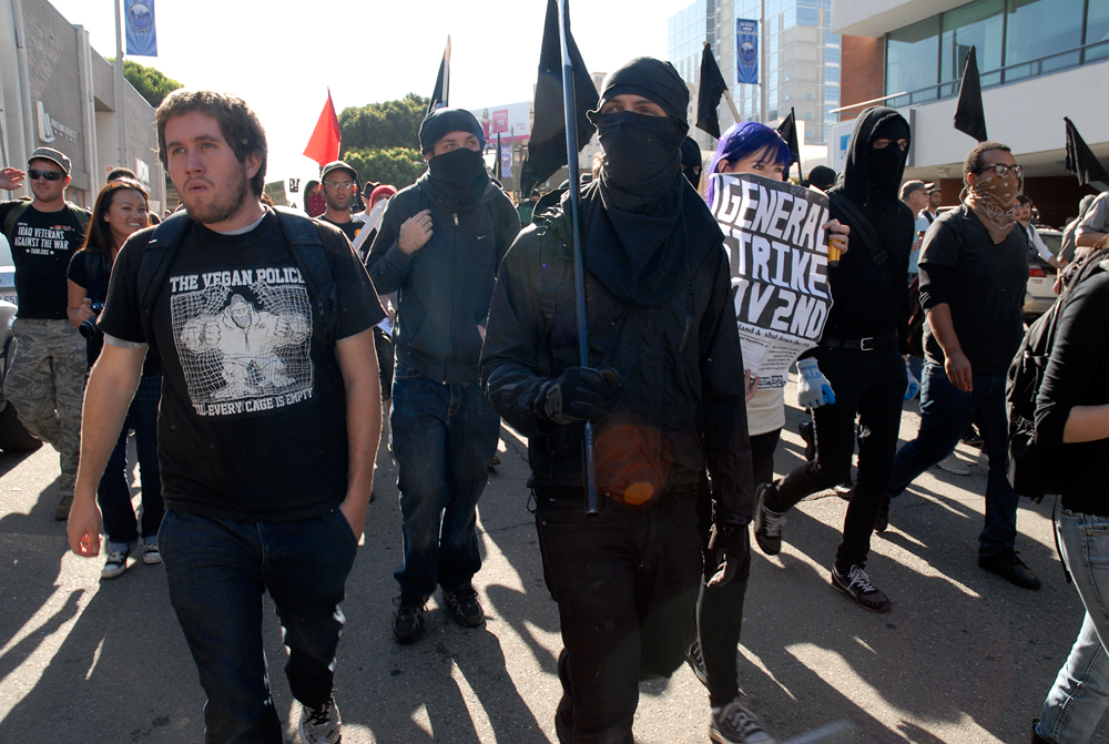 The Vegan Police - Anti-Capitalist March