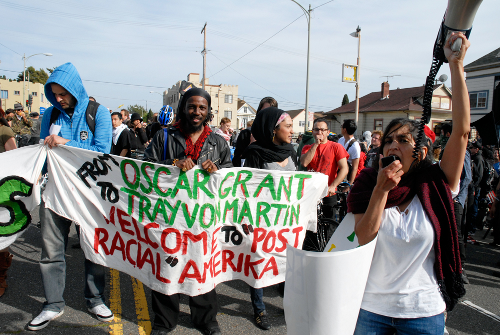 May Day March in Oakland - post racial amerika