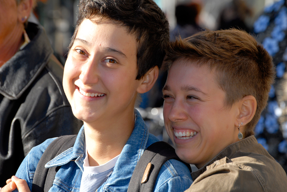 Dyke March couple