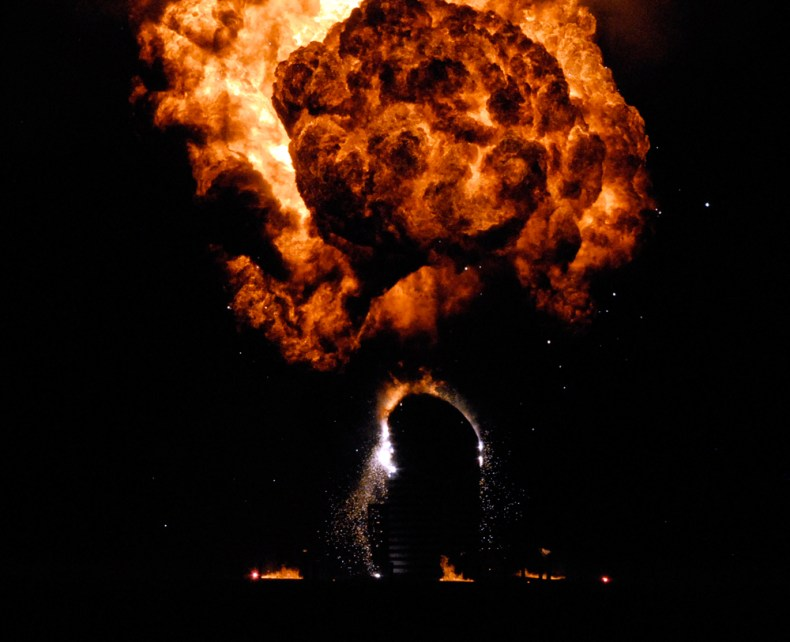 momafire burn. Photo: Wendy Goodfriend