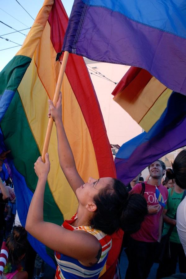 Rainbow Pride. Photo: Wendy Goodfriend