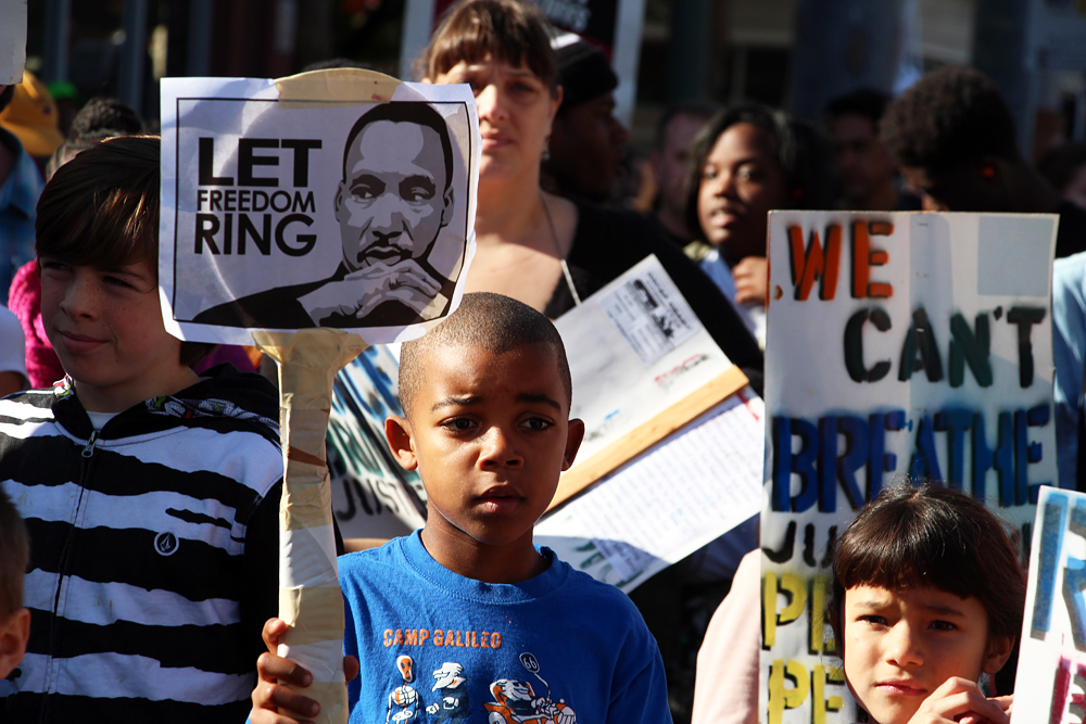 Reclaiming the Legacy: Martin Luther King Day March in Oakland