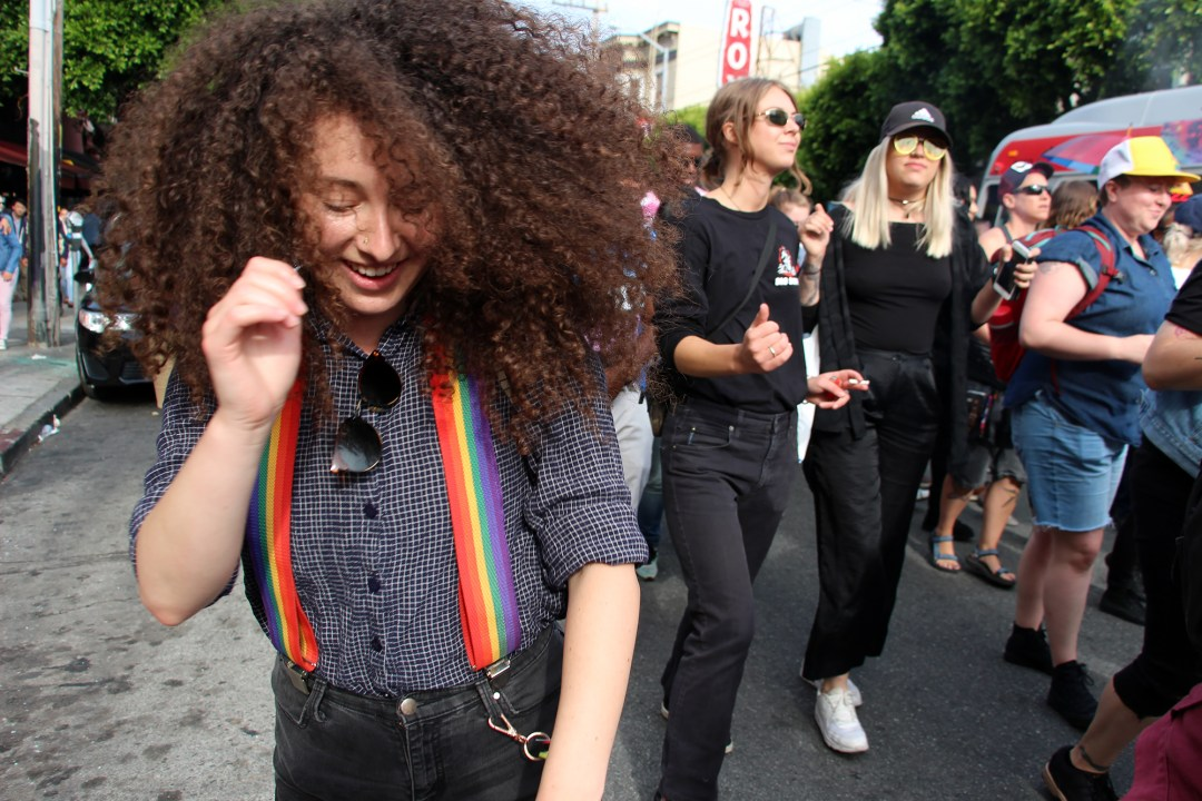 Dancing at Dyke March