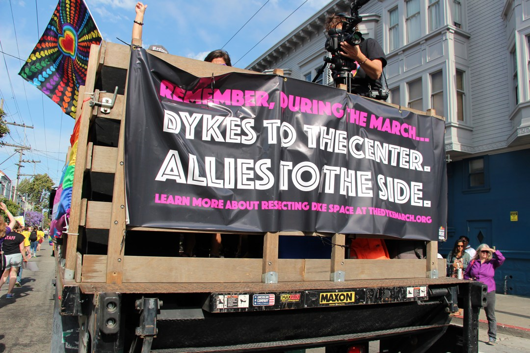 Dykes To The Center - Allies To The Side