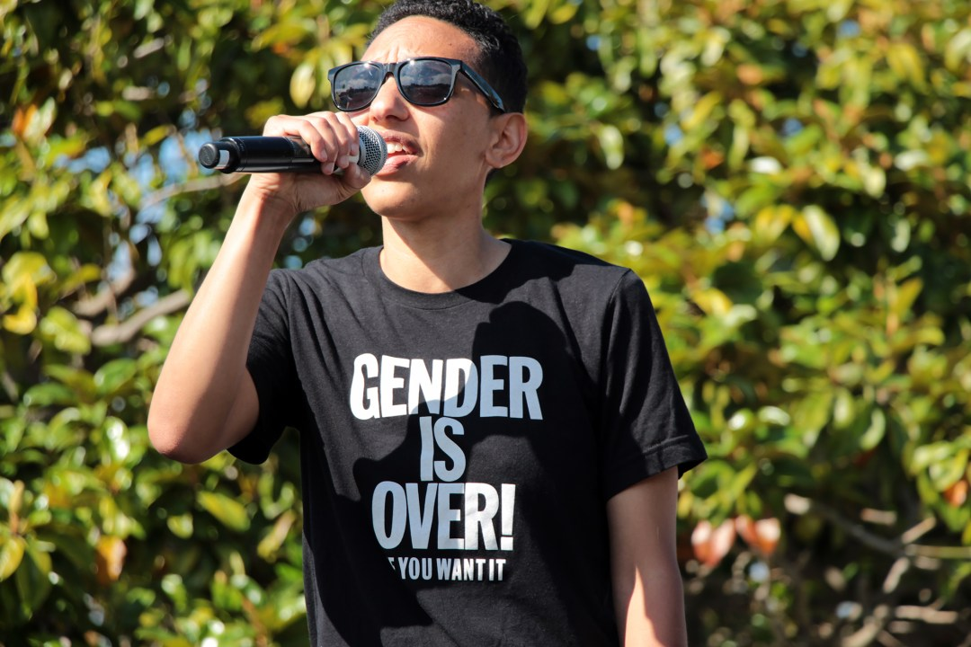 Trans March SF 2017 - Gender is Over!