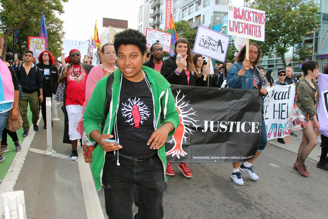 Trans March SF - Justice