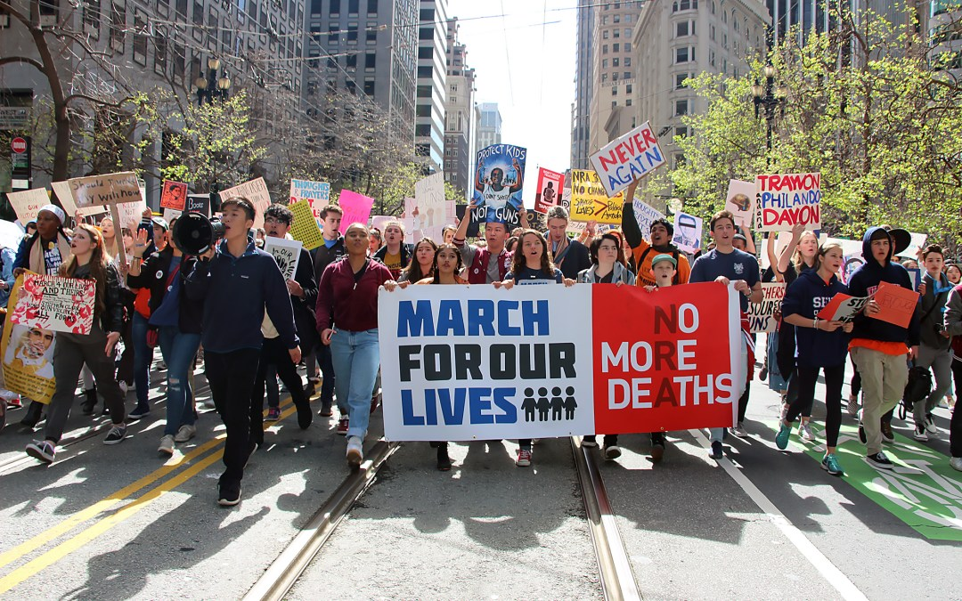 #MarchForOurLives in San Francisco – Signs of the Times to End Gun Violence