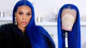 LET' S MAKE A WIG | ELECTRIC BLUE