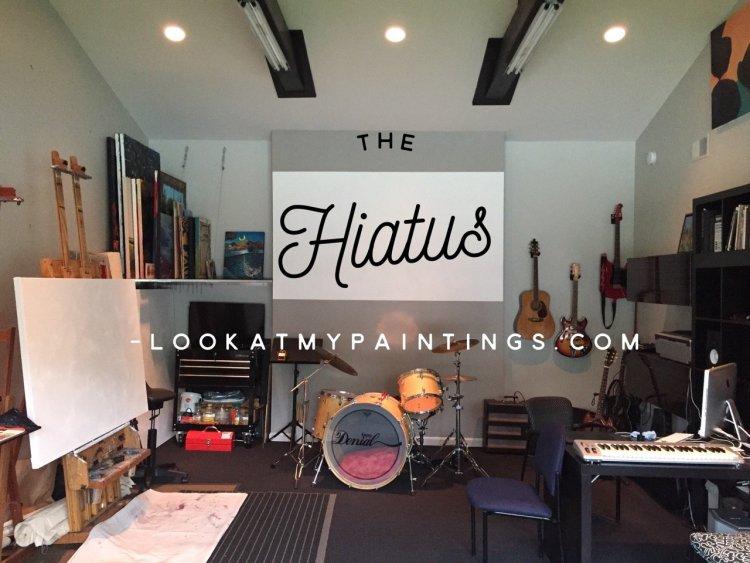 Photo of the Hiatus - Steve Miller's art, design, and music studio.