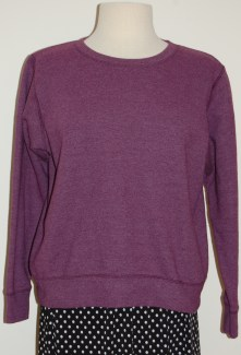 Franciscan_Purple Sweatshirt