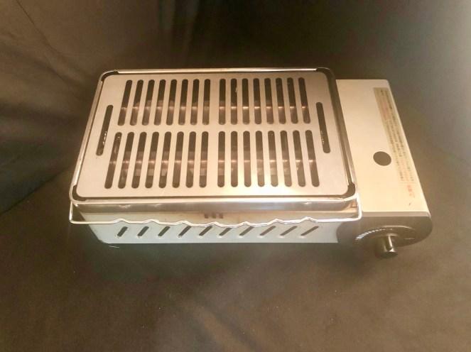 炉ばた大将用鉄板&グリルプレート インプレ