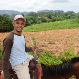 My guide in Viñales