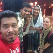 Family in Chittagong