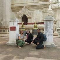 Maria and Juan in Bagan