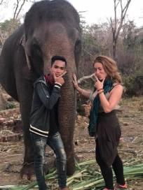 Tad Lo and its elephants