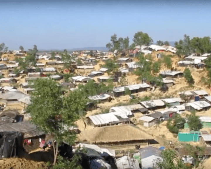 Rohingyas camp video