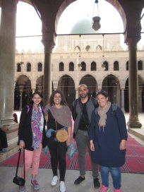 Sonia, Nora, Ezkander and Dalhia